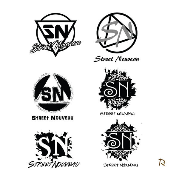 Street Nouveau Rc Art Design Graphic Design Branding Logo Based In Tennessee